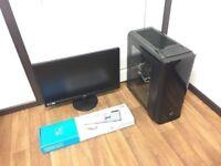 Custom Built Gaming Computer PC, Complete Setup (AMD Quad Core, 12GB RAM, 750GB HD, Radeon 6670 GPU)