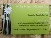 White Blooms Gardening - Local Bristol Gardener