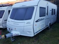 2010 Coachman VIP 545/4 Berth Fixed ISLAND Bed Caravan with Motor Mover