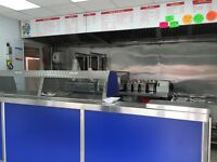 Fish & chip shop was in trade for over 17 years, Recently Shop fully refurbished.