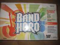 Band Hero Wii box with drums, guitar and microphone + GAME - NOW REDUCED YET AGAIN!