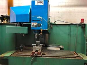 SMG CNC Vertical Machining Center with Fanuc OM control