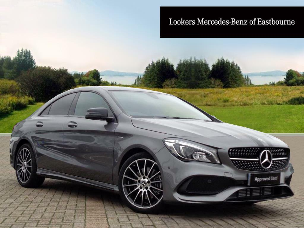 mercedes benz cla cla 220 d whiteart grey 2017 09 29 in portslade east sussex gumtree. Black Bedroom Furniture Sets. Home Design Ideas