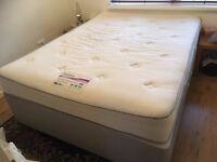 6 month old King Size bed + duvet + bedding