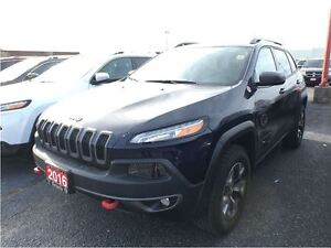 2016 Jeep Cherokee TRAILHAWK**8.4 TOUCHSCREEN**BACK UP CAMERA**B