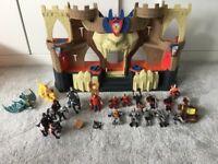 Imaginext lions den knight castle with sounds