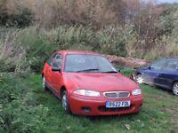 Rover 3 door hatchback for sale - 11 months MOT. £500 OVNO