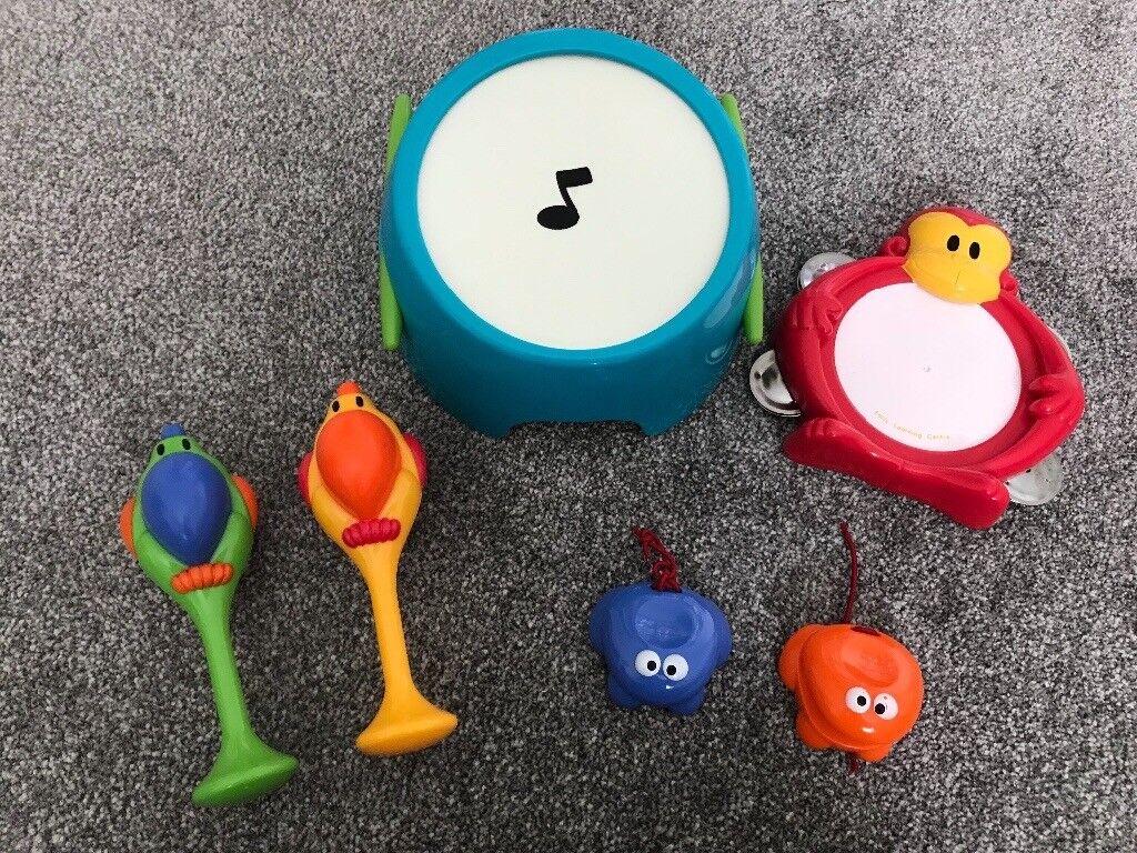ELC jungle beats music set toys