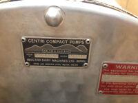 centifugal water/ dairy pump 316l st/st, flooded suction centifugal water pump 316l st/st,