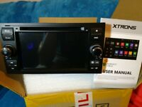 "XTRONS Quad Core 7"" Android Car Stereo Head Unit CD DVD GPS System for Ford Focus Mondeo Fiesta etc."
