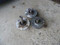 Ride on mower /Countax / westwood Deck parts--3 Hubs all good