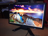 """Acer X243h 24"""" LCD backlit monitor"""