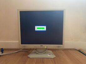 """Elonex 17""""Inch LCD Monitor with VGA Cable"""