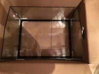 Turtle Reptile Open Top Terrarium Aquatic Habitat Full Glass Tank 20G(94L) Brand New!