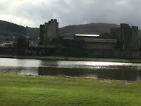 Room in super shared house overlooking Caerphilly Castle