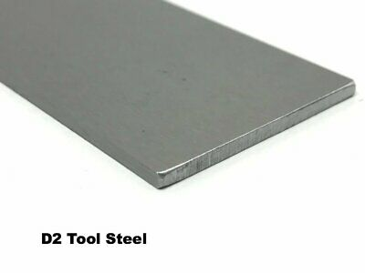 D2 Precision Ground Tool Steel Flat Bar 18 X 4 X 18 Knife Making Billet