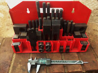 milling machine clamp set suit Bridgeport etc.
