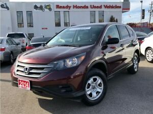 2014 Honda CR-V LX  AWD  - R. Camera - Heated Seats