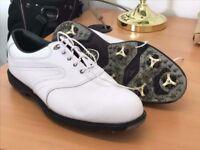 White Size 12 Footjoy golf shoes