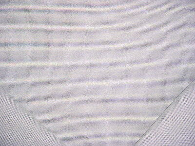 GLANT 9909 PALM BEACH GRID IN SKY AND WHITE WEAVE DRAPERY UPHOLSTERY FABRIC