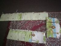Cot bumper great condition hardly used .smoke and pet free home