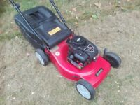 Self Propelled Petrol Lawnmower Husqvarna Sovereign Serviced