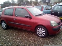 Renault Clio Expression, LONG MOT, LOW MILEAGE