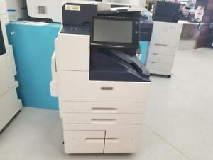 ONLY 4K PAGES PRINTED-ALL INCLUSIVE SERVICE PROGRAM DEMO UNIT Xerox altalink B8065 Copy Print Scan with 65PPM for $165/m