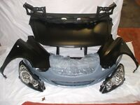 Vauxhall Corsa D (2006-2011) Complete Front end - Body repair parts - Wings, Headlamps, Bumper