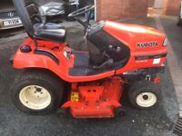 Kubota g2160 Diesel ride on mulching mower