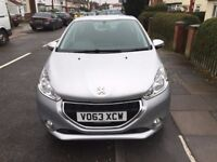 PEUGEOT 208 2013 ONLY £20 A YEAR ROAD TAX WITH 2 KEYS HPI CLEAR FULL MAIN DEALER SERVICE HISTORY