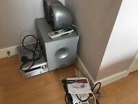 Onkyo Amp/Receiver/CD player, Tannoy Speakers/Sub-Woofer