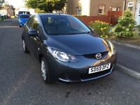 MAZDA 2 TS 2009 **LOW MILES 39k** 1 YEAR MOT** SERVICE HISTORY** VERY CLEAN** LOVELY COLOUR**