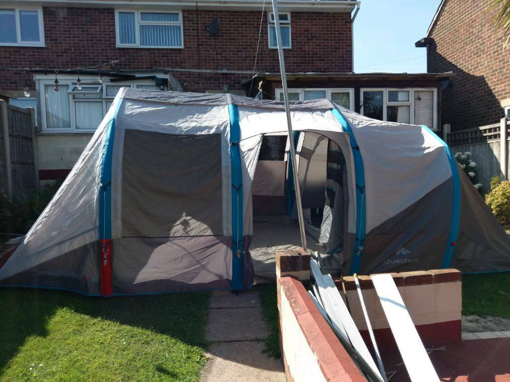 Quechua Air Seconds Family 6 3 Xl Tent In Derby