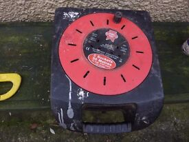 FAITHFULL 50M 2 SOCKET EXTENSION LEAD GREAT CONDITION