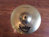 Wokingham Drum Sales - Sabian Solar 10 inch Splash Cymbal - Excellent