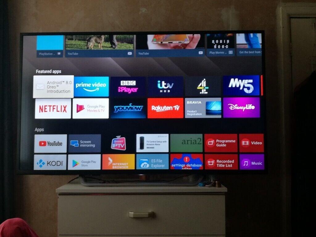55 inch barvia smart sony tv | in Yate, Bristol | Gumtree