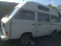 VW T25 camper breaking for parts good doors roof etc