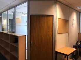 Small office with furniture is available to let - Ideal for solicitors/Architects/IT Professionals