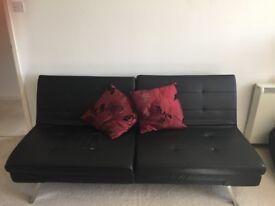 Black 'Acapulco' sofa bed