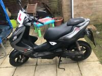 Yamaha NS50 Aerox R 50cc scooter Grey