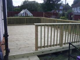 5mtrsx4.8mtrs £1080 decking patio supply and install