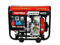 Generator KRAFTWELE SDG7800 ATS 7,8 Kva 3PHASE DIESEL