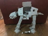 Hasbro Vintage Collection Star Wars Empire Strikes Back At-At & Snow speeder VGC