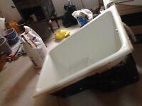 Cast Iron Sitz Bath in Excellent Condition