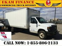 2011 Ford Econoline E450 CUTAWAY 16ft Cube Van  Low Mileage Exce