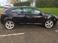 SEAT IBIZA 1.6 Sport Low Mileage (black) 2008