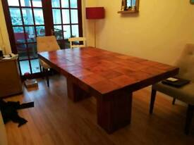 Dining table - Solid Hardwood Quality Table 6' x 3'