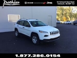 2016 Jeep Cherokee Sport 4x4 | CLOTH | HEATED SEATS | HEATED MIR