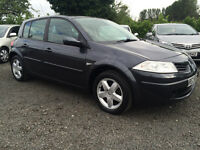 2008 RENAULT MEGANE 1.4 EXTREME 5DR FULL YEARS MOT DEBIT AND CREDIT CARDS ACCEPTED